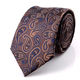 Custom Made Woven Men Stock Silk Tie with Standard Size