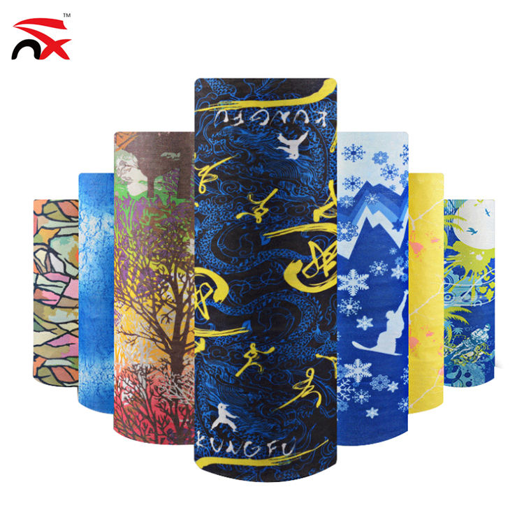 Outdoor Multifunctional Magic Scarf Headwear Seamless Tube Bandana