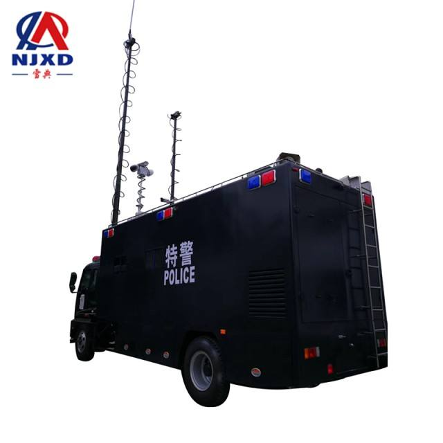 1.5m retract surveillance camera tripod mast tower microwave vehicle mounted 足球投注网 camera tower