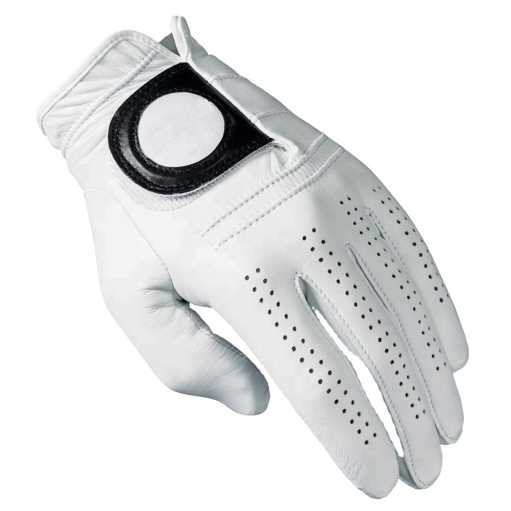 cabretta leather golf gloves with custom colors