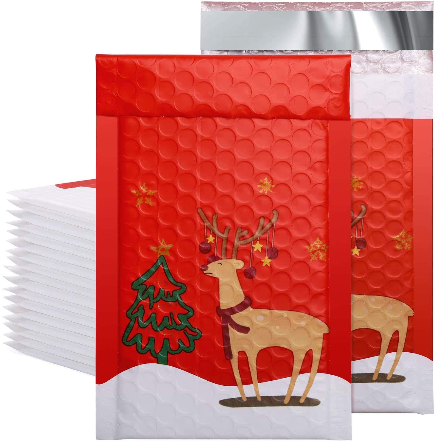 Heavy Duty Quality Customized Christmas Card Mailer Creative Christmas Mailer in Many Sizes for Any Holiday Occasion