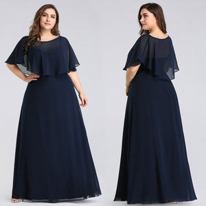 Ever-Pretty EZ07762 Mother's Plus Size Straps And Shawl Long Party Dresses