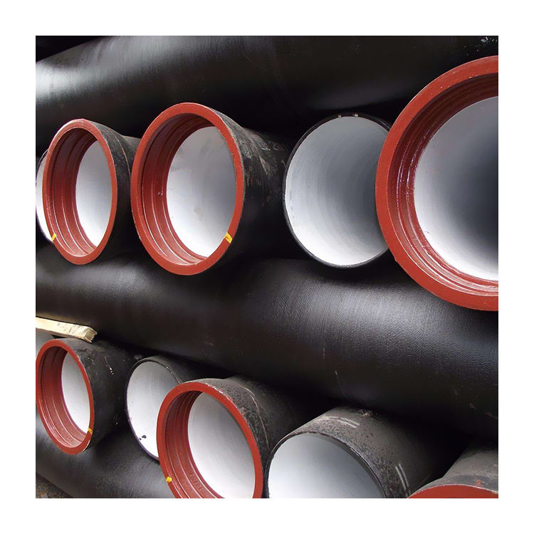 Chinese suppliers ISO certified Ductile iron pipe weight with factory price