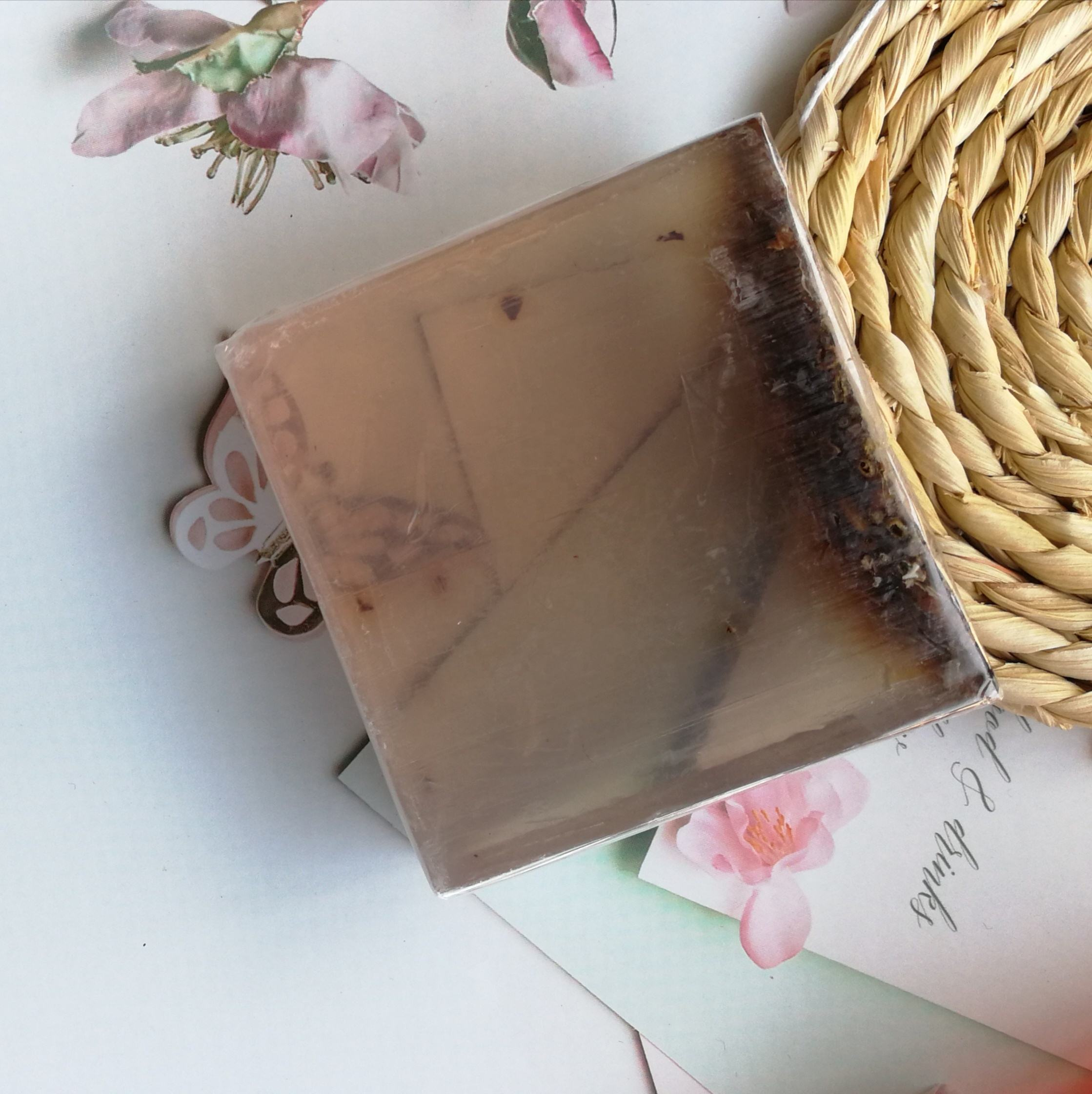 Customized Own Brand Handmade Natural Herbs Lavender Yoni Bar Soap