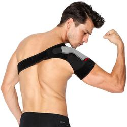 Breathable Adjustable Compression Sleeve Neoprene Shoulder Support Shoulder Guard for Sports