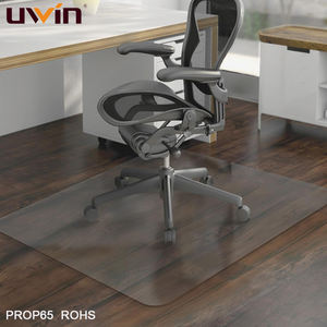 Clear Plastic Hardwoord Floor Protection Polycarbonate Chair Mat