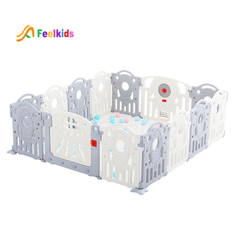 High quality indoor fence baby plastic safety playpen