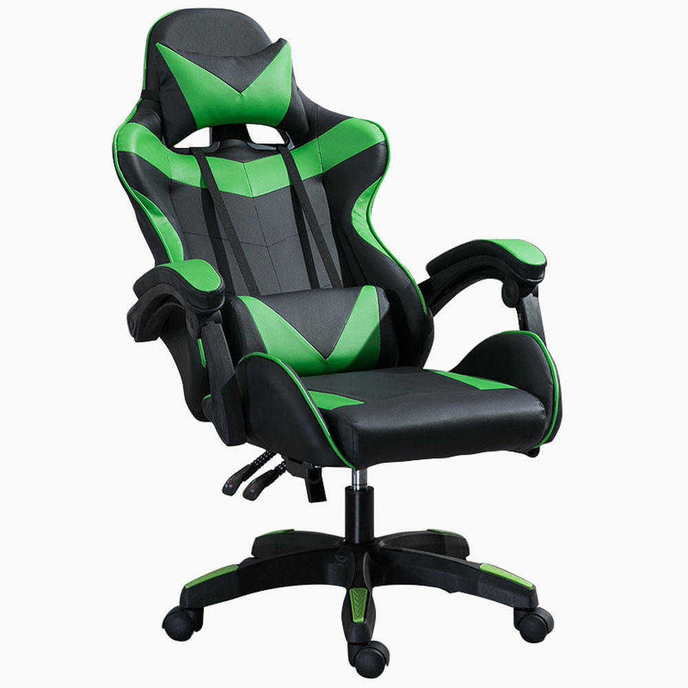 Comfortable PU Leather Materials Chair With Caster For Office Or Game Company