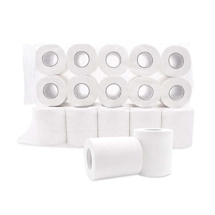 2020 hot sale White Toilet Paper, Soft Professional Series Premium 3-Ply Toilet Paper roll, Rapid Dissolving Toilet tissue
