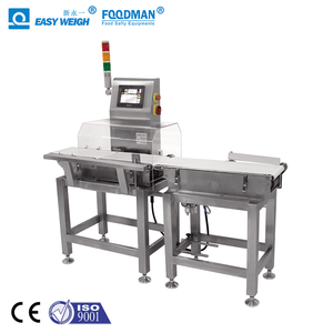 Food Industry High Speed High Precision Online Weight Checking Conveyor Belt Automatic Checkweigher Machine Auto Check Weigher