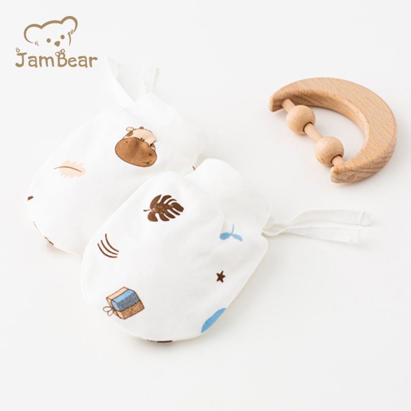 JamBear Baby Catch cotton mittens, keep warm in autumn and winter, OEM factory customize