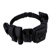 8 in 1 Multifunctional Training Polices Heavy Duty Utility Tactical Belt With Pouches Holster Gear