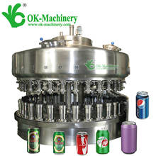 glass bottle jar filling sealing machine/Can Filling Production Line