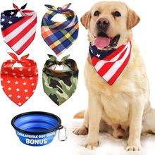 Cat Dog Bandanas Pet Bandana Pet Triangle Bibs Scarf for Small Medium domestic Cat Dog Pet dog collar bandana