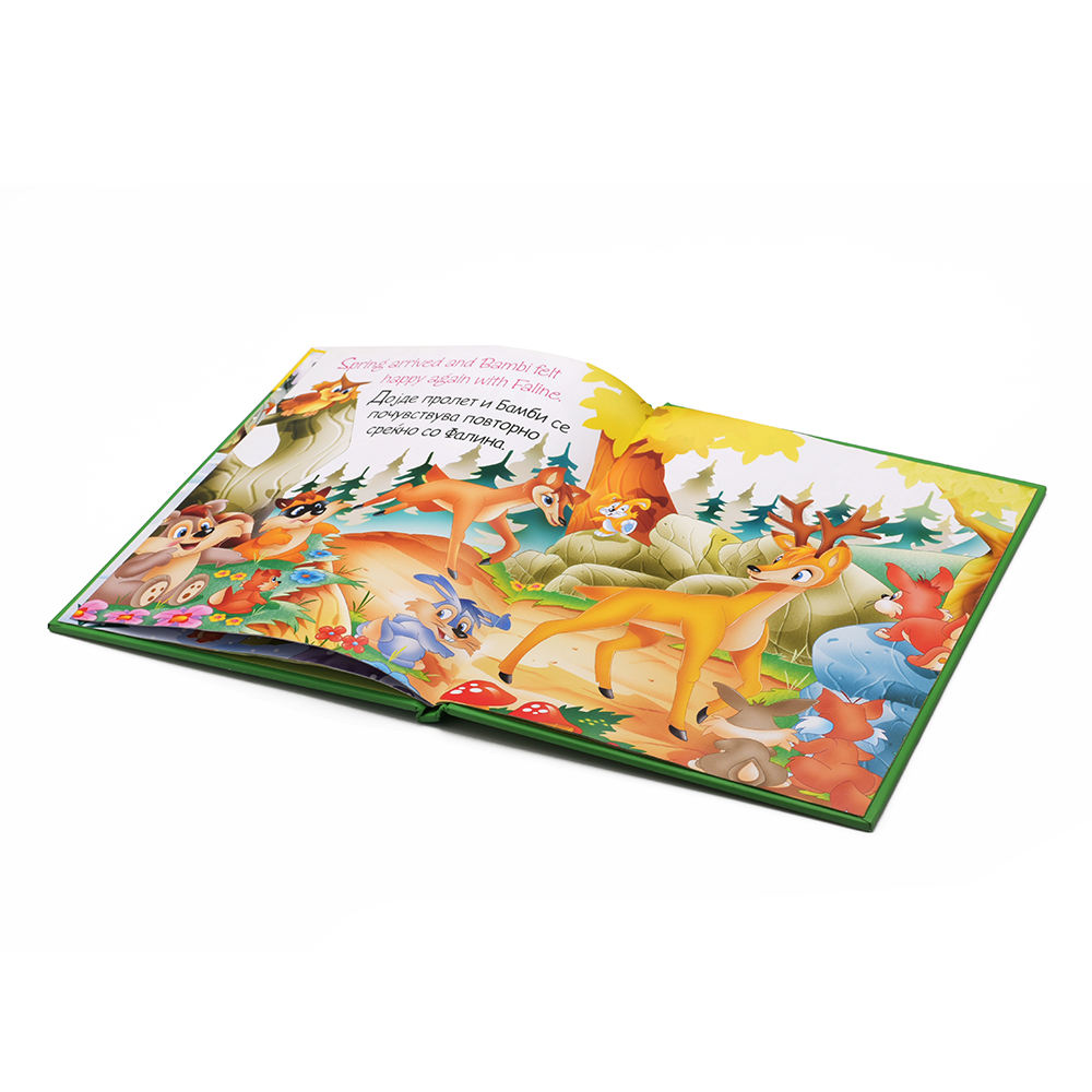 Good quality printed children hardcover book suppliers