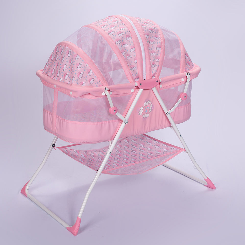 Swing Portable Cradle Baby Bed For Baby With Canopy