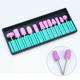 6PCS/Lot Nail Art Supplies Electric Drill Bits File Standing Grinding Head Sand Replacement Polish Machine Set Kit Manicure Tool