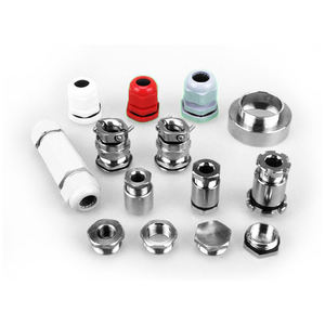 WZUMER SS 304 316 Types Stainless Steel M20 Cable Glands For Wire
