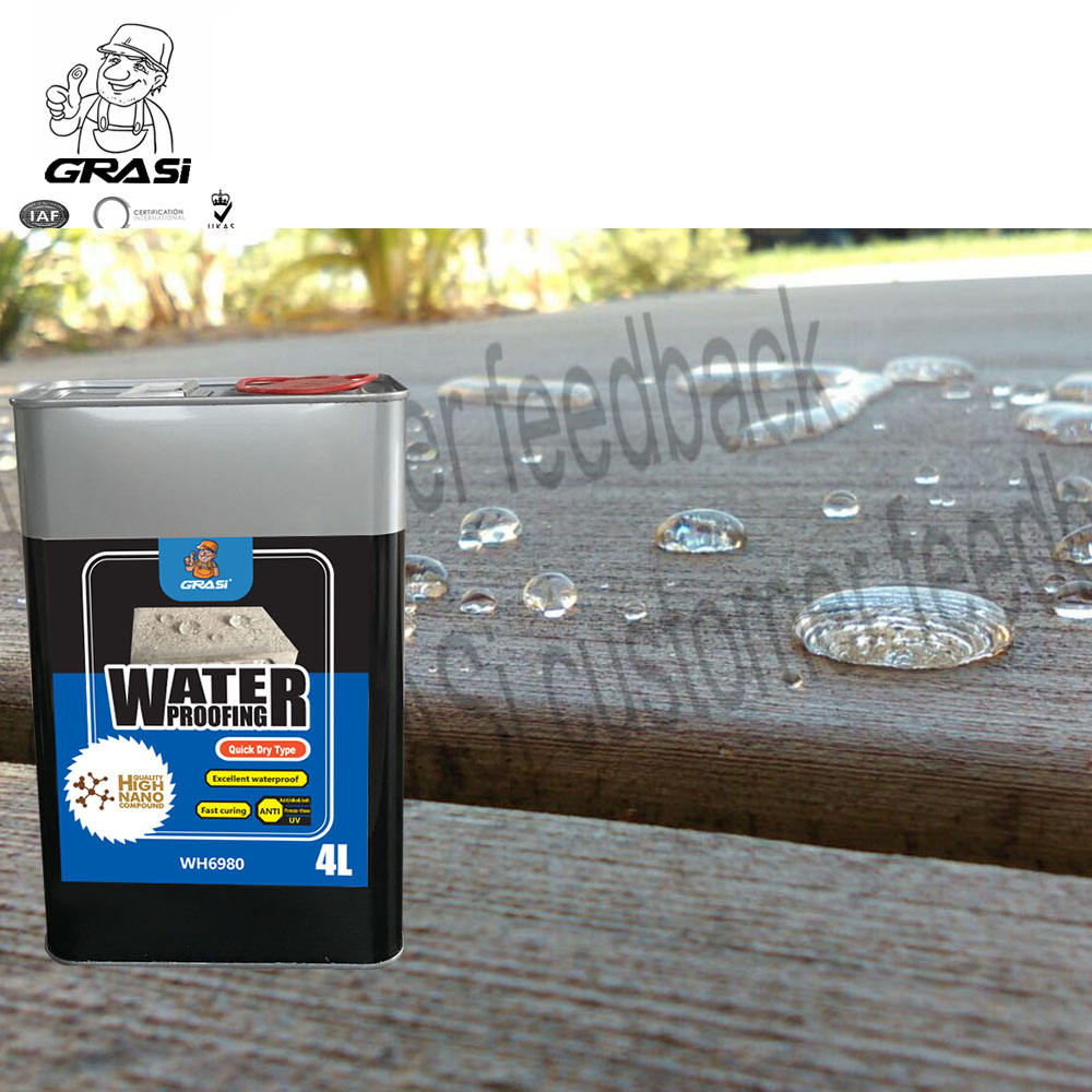 Roof Coating Water proof,Nano Hydrophobic Coating Waterproofing Materials for Concrete Roof