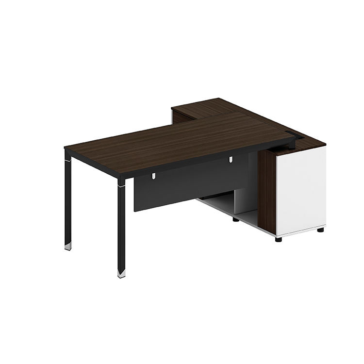 Northern Europe Style Simple Office Computer Table Workstation One Person Manager Desk