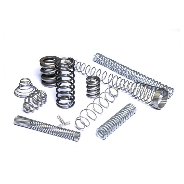 Manufacture custom stainless steel 304 coil compression springs with end ground and flat