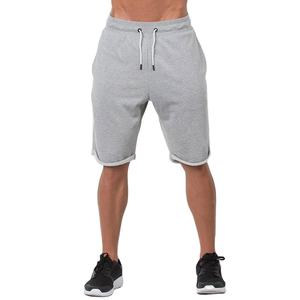 Wholesale athletic custom casual fleece shorts for mens