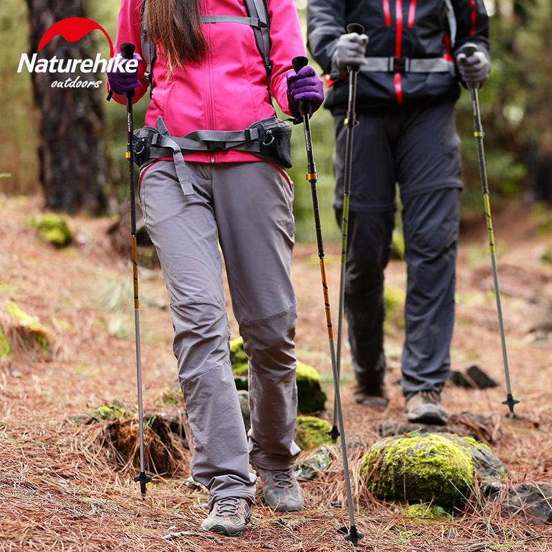 Naturehike ST05 5 Node Foldable Carbon Fiber Trekking Pole Stick Ultralight Telescopic for Hiking Climbing