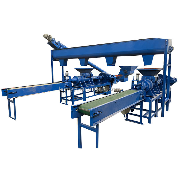 Plant Hot Selling Ce Coal Charcoal Briquette Briquetting Extruder Making Machine Price