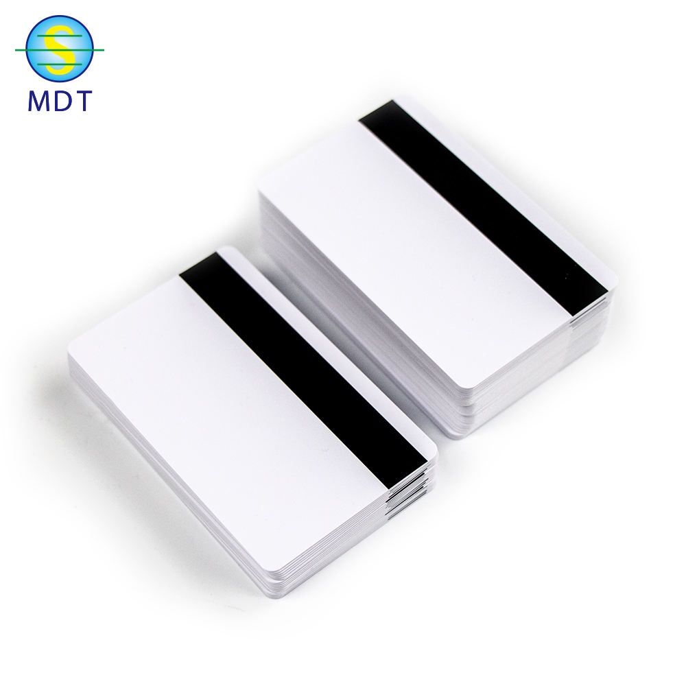 Mdt N Standard Size Plastic pvc Magnetic Card loyalty card printing