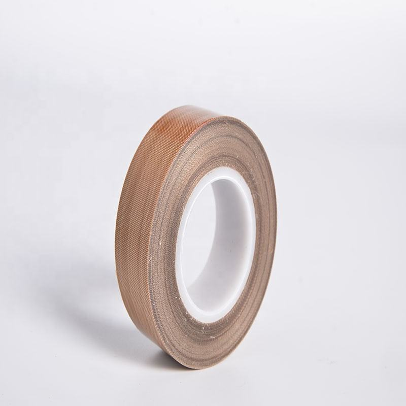 Custom Size Industrial PTFE Fabric Woven Adhesive Tape ptfe coated fiberglass tape