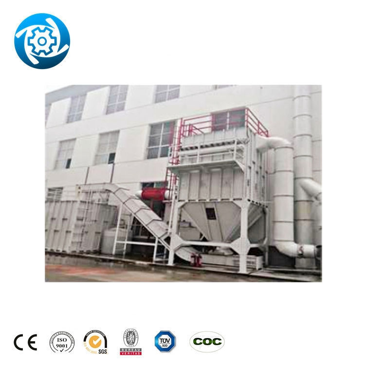 Woodworking Bag House Dust Collector Floor Type Wood Chip Galvanized Steel Sawdust Extraction System