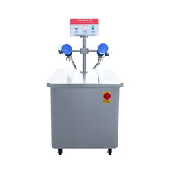 Semi-automatic Double Stations Anion Purification Dust Collector Machine For Glass plastic bottles