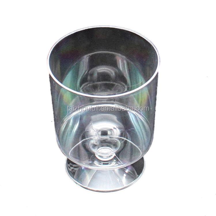 Mini taza de Mousse de plástico de servicio pesado miniatura postre Mousse taza ahorros Paquete de 24 está