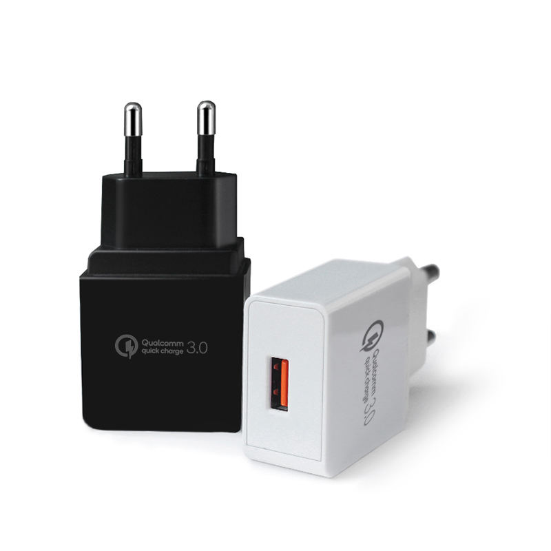 KC plug Fast USB Wall Charger, single Port Travel USB KC Plug QC 3.0 Adapter for Samsung Galaxy S10 S9 S8 Fast Charging