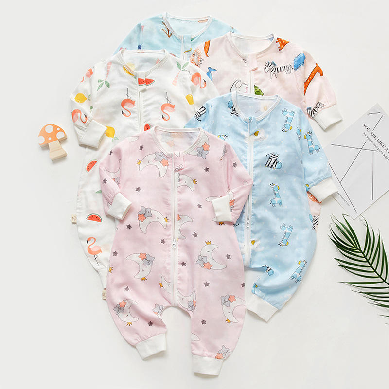 New Fashion summer Animal printed Cent leg wearable Baby sleeping bag