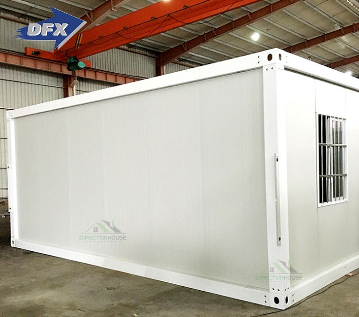 Low cost 20ft prefab container house luxury prefabricated house price