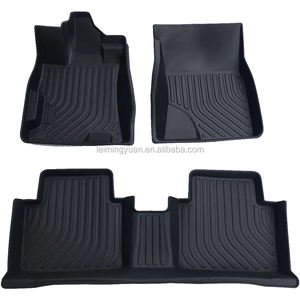 Left right hand drive Custom 3d TPE 6d 5d rubber TPO car floor mats