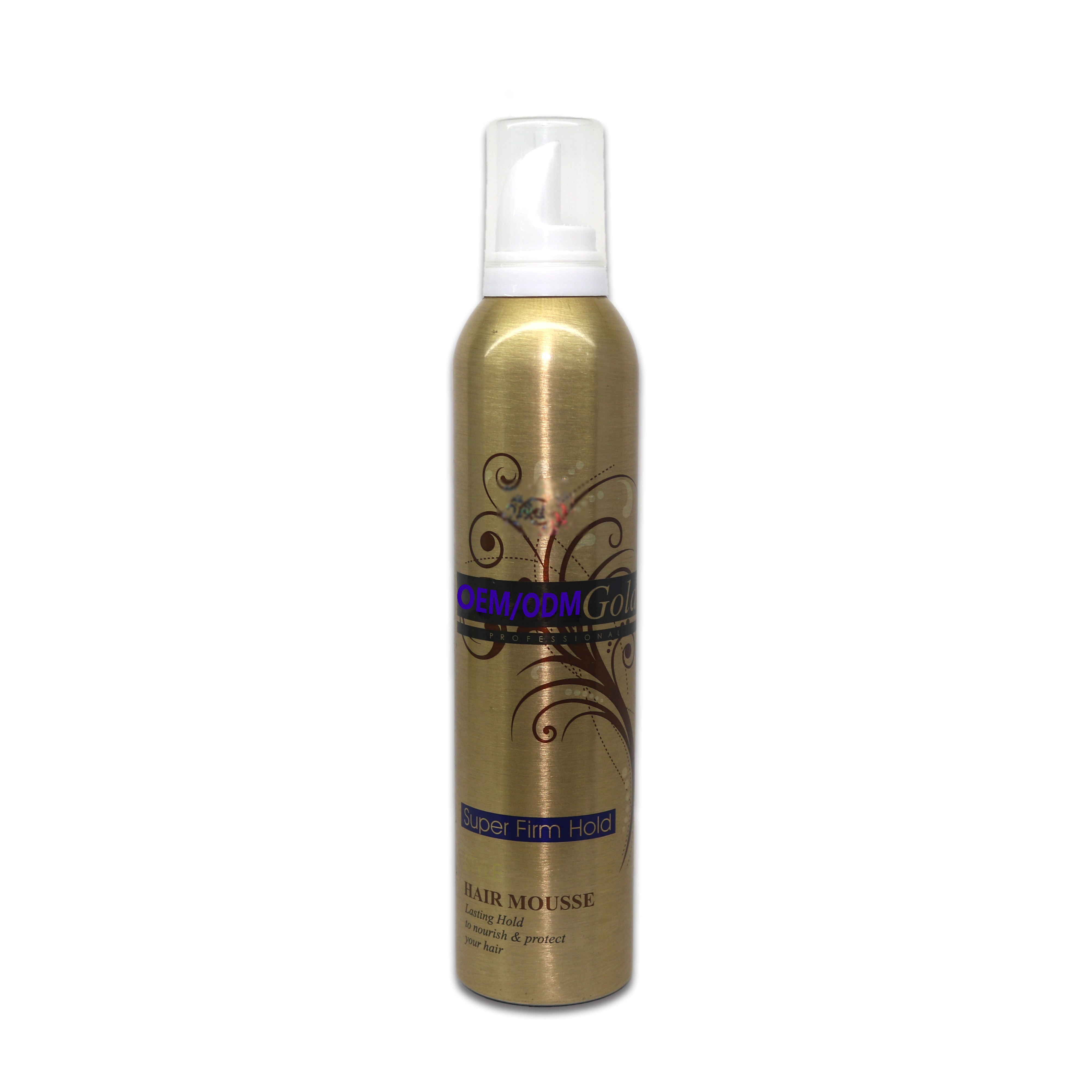 OEM/ODM private label hair styling foam hair mousse