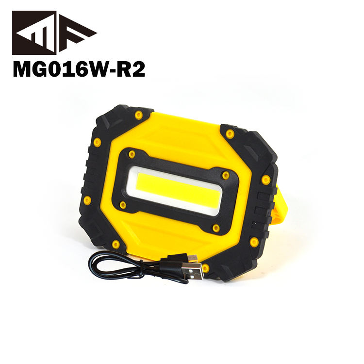 Handy Magnetic Rechargeable Portable COB LED Work Lights with Power Bank Function And Flash for Car Repair/Protect