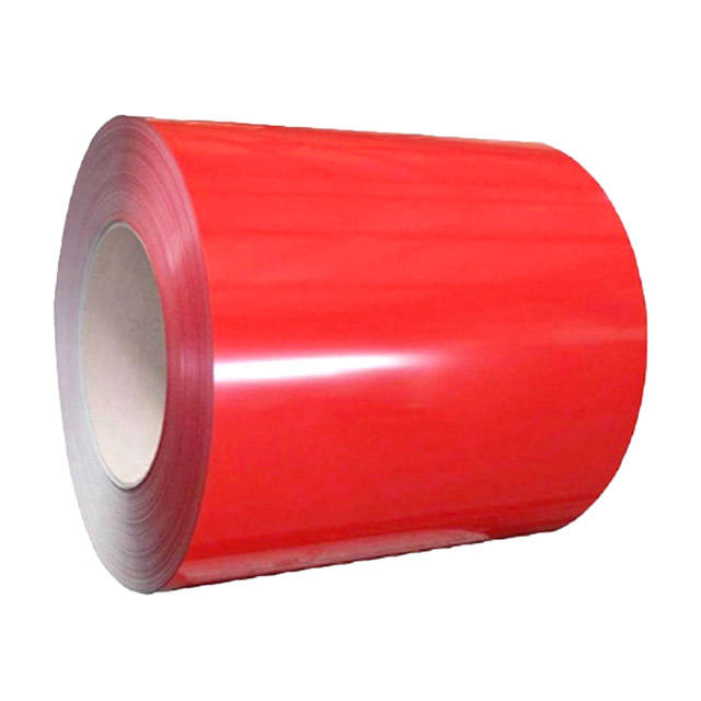 Prepainted galvanized color coated steel coil ppgi steel coil red
