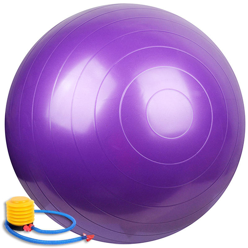Anti Burst PVC ECO- Friendly GYM Fitness Yoga Balls With Foot Pump For Exercises Yoga Equipment