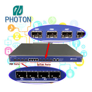 Serat Optik Terminal 4 Port PON L3 MINI EPON OLT