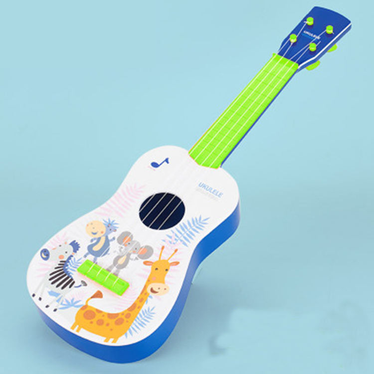 Hot Amazon Musical Instruments Cheap Fruit Electric Acoustic Guitars 4 String for Kids