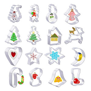 Gingerbread cookies mould unicorn kids set christmas cookie cutter