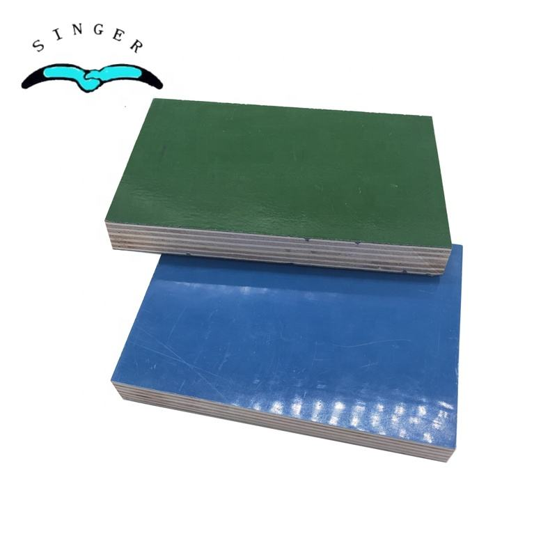 Plywood 1220x2440 3/4'' Poplar Core Plastic Plywood Formwork For Concrete Template