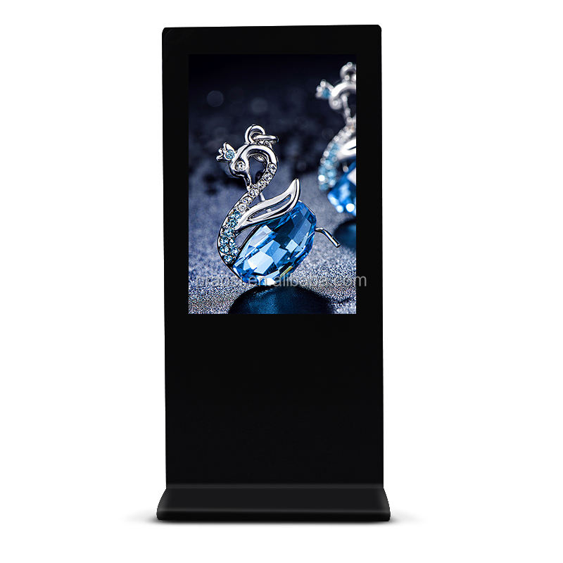 long standby counter top lcd advertising screens 8 inch video loop digital photo frame ads player