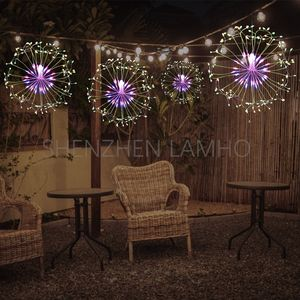 House Wedding Bedroom Christmas Decoration Color Changing Led Hanging Starburst Party Lights
