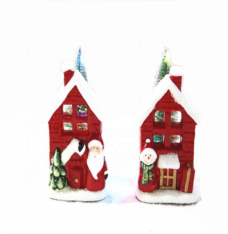 Nuevo diseño al por mayor de Navidad de cerámica decoración de la <span class=keywords><strong>casa</strong></span>
