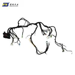 customize 7 pin automotive wire harness assembly for electric automobile
