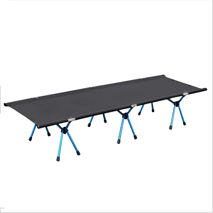 Outdoor möbel military <span class=keywords><strong>stahl</strong></span> nylon folding camping doppel bett